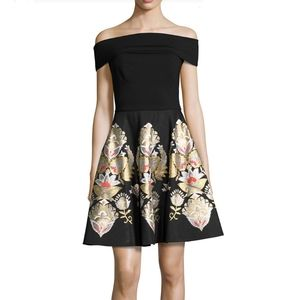 Ted Baker Embroidered Party Dress NYE Holiday